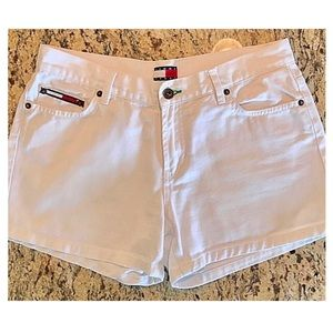TOMMY JEANS White Shorts